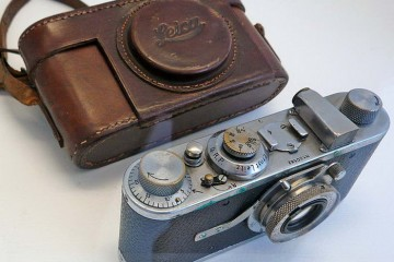 Bressons First Leica