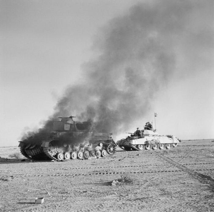 British Crusader tank