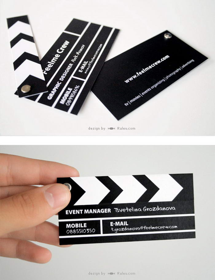 Clapperboard Business Card