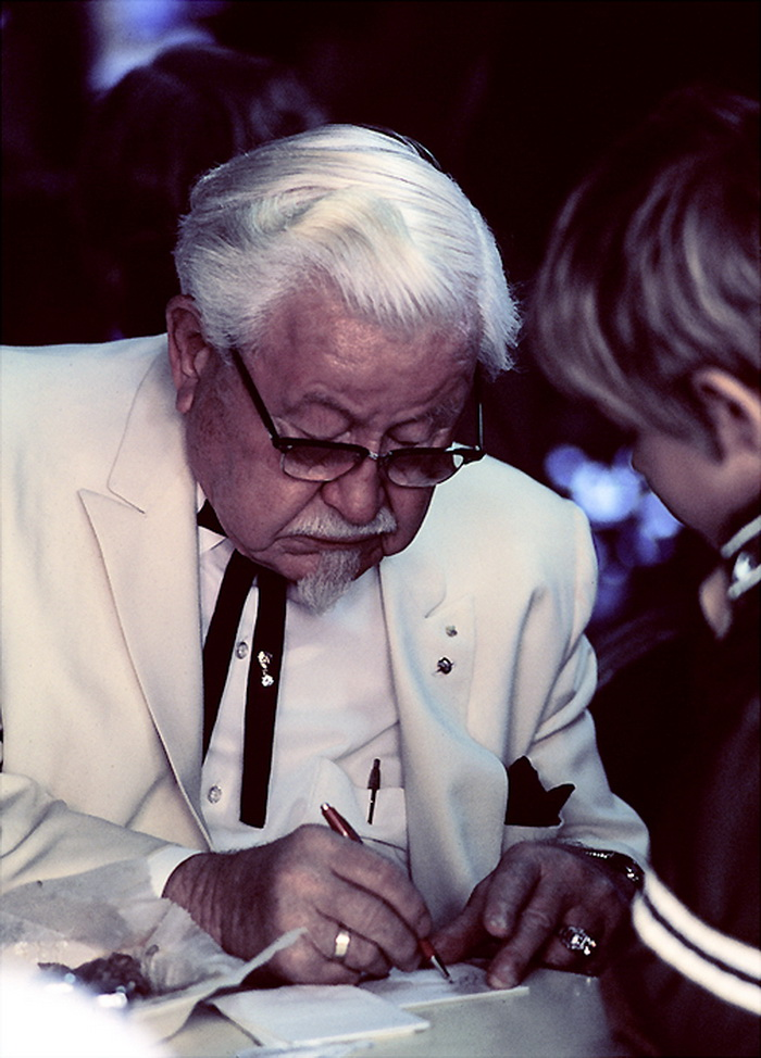 Colonel Harland Sanders