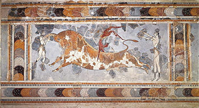Cretan Bull Leaping