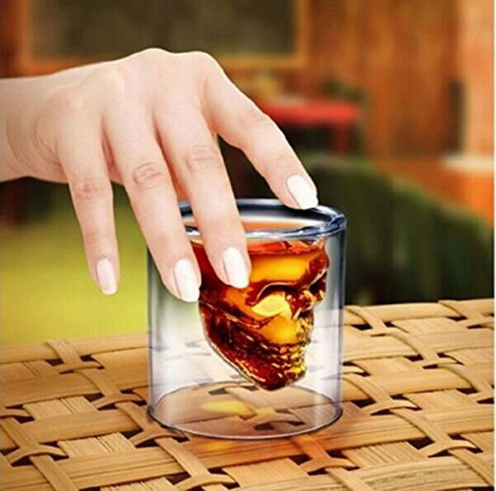 Drhob Creative Pirate skull cup