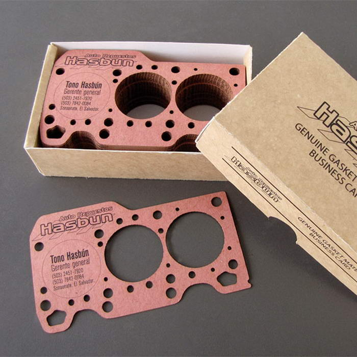 Engine Gasket Business Card