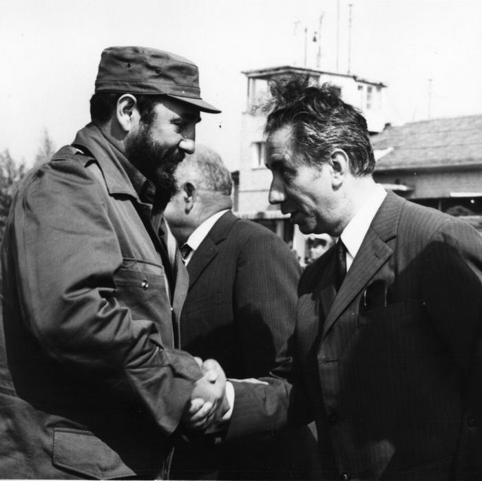 Fidel Castro Ruz in Varna