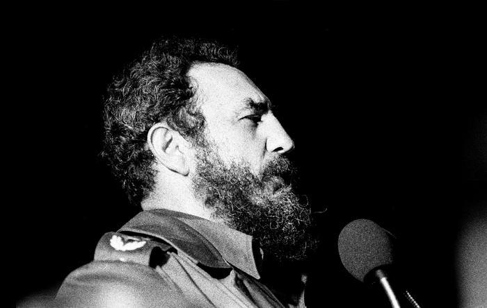 Fidel in Havana
