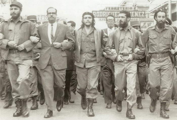 Fidel with Che