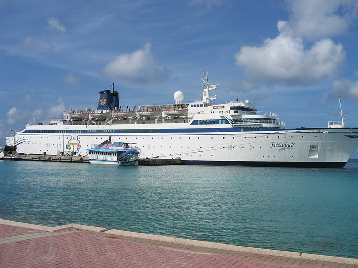 Freewinds starboard
