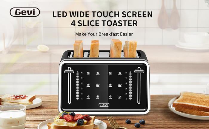 Gevi Toaster 4 Slice