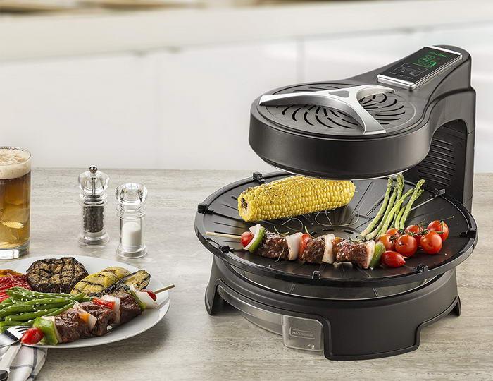Gourmia Digital Halogen Powered Rotating Grill