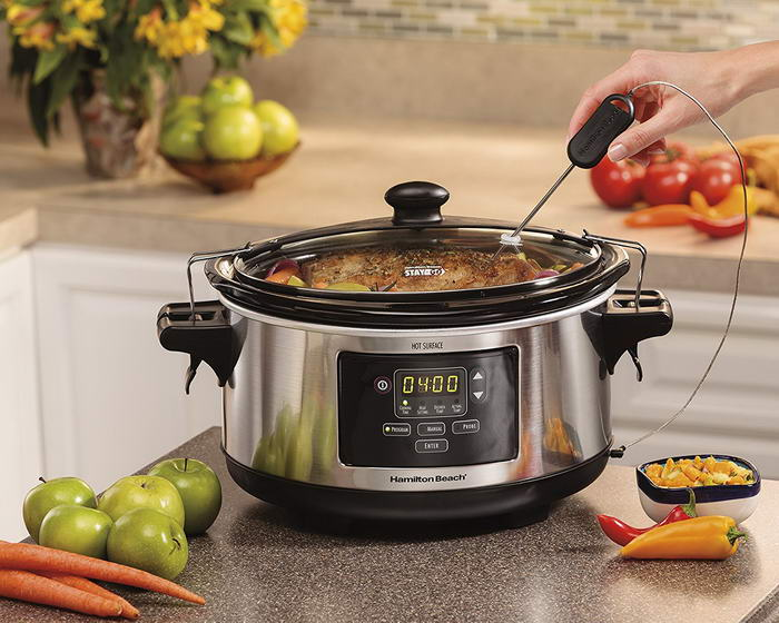 Hamilton Beach Set Forget Programmable Slow Cooker