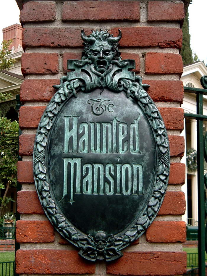 Haunted Mansion Door