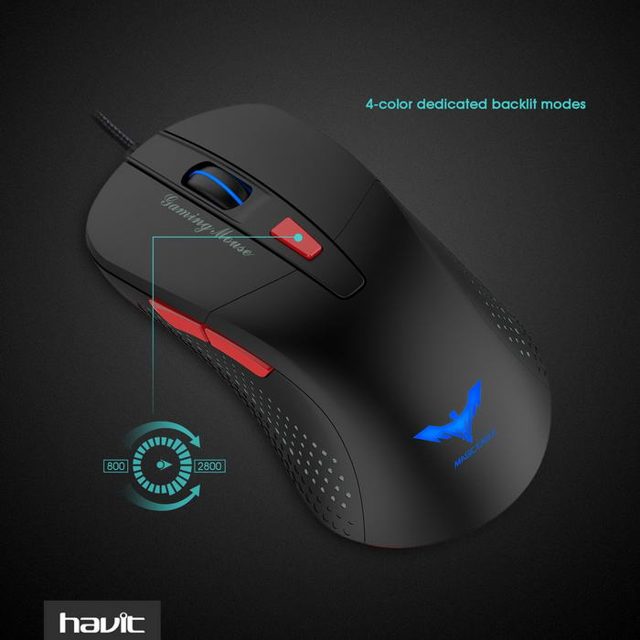 Havit 2800 DPI mouse