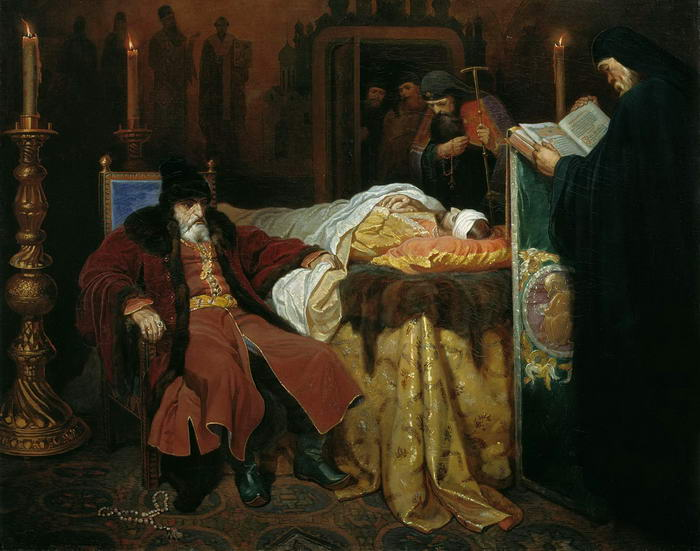 Ivan the Terrible near the body of his son