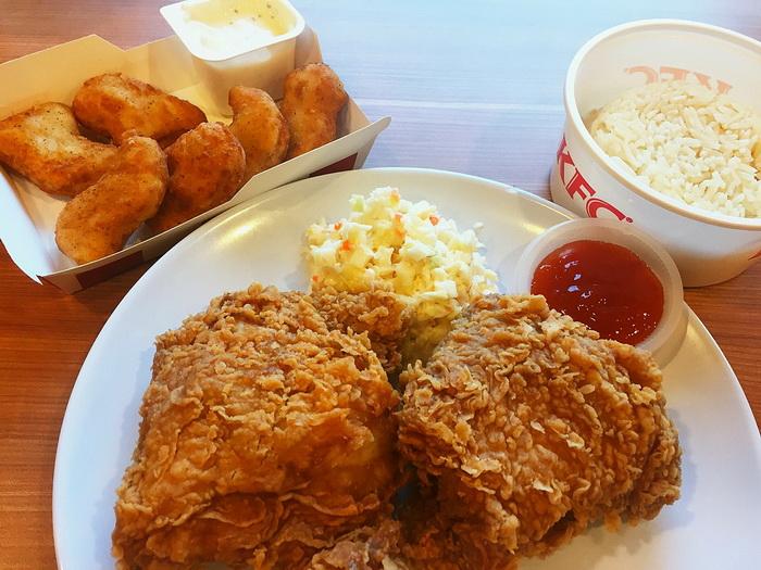 KFC Rice Set