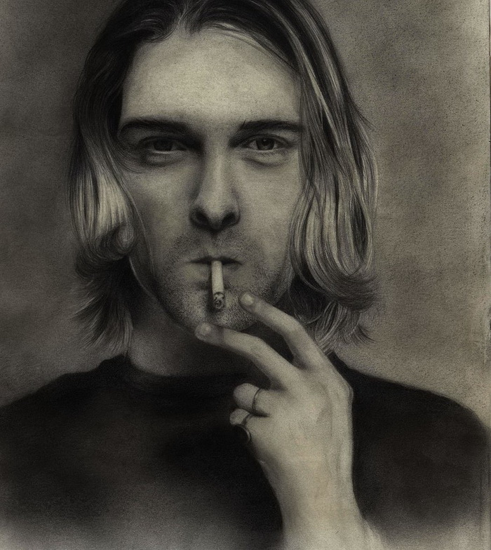 Kurt Cobain by Rose Robin