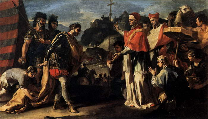 Meeting of Pope Leo and Attila