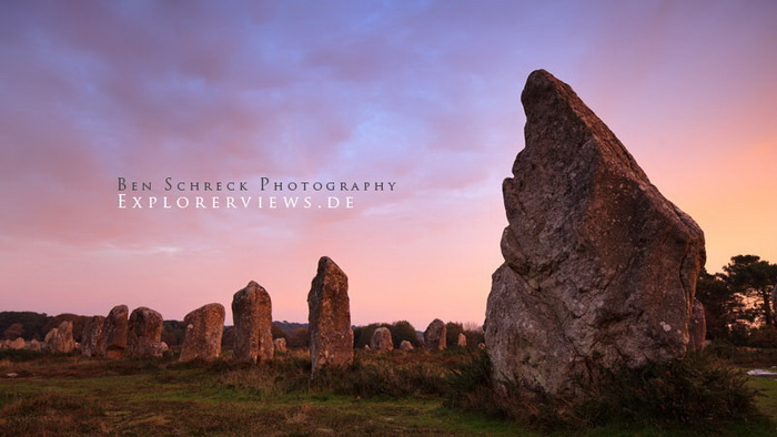Stone rows of Carnac