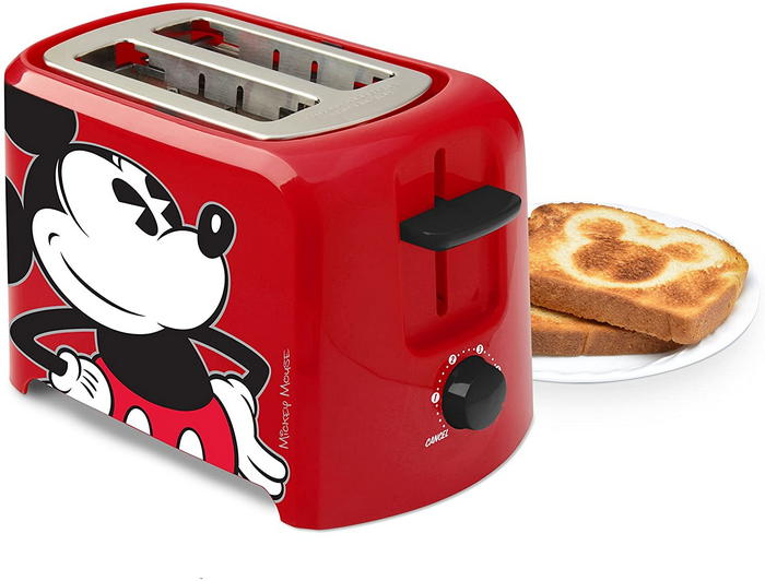 Mickey Mouse 2 Slice Toaster