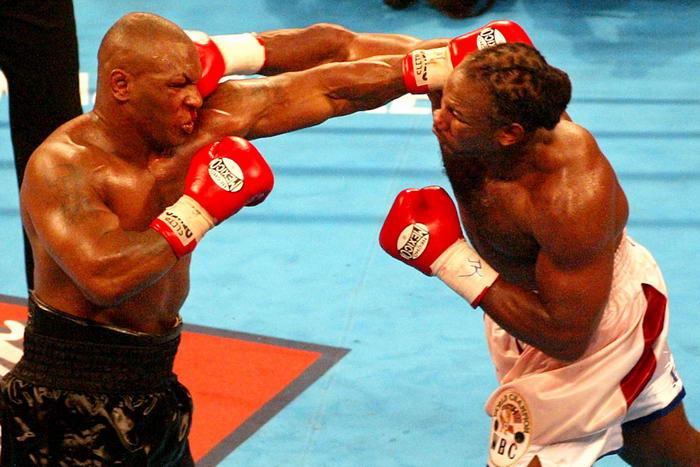 Mike Tyson v Lennox Lewis