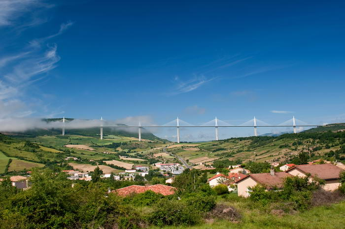 Millau Viaduct Bridge