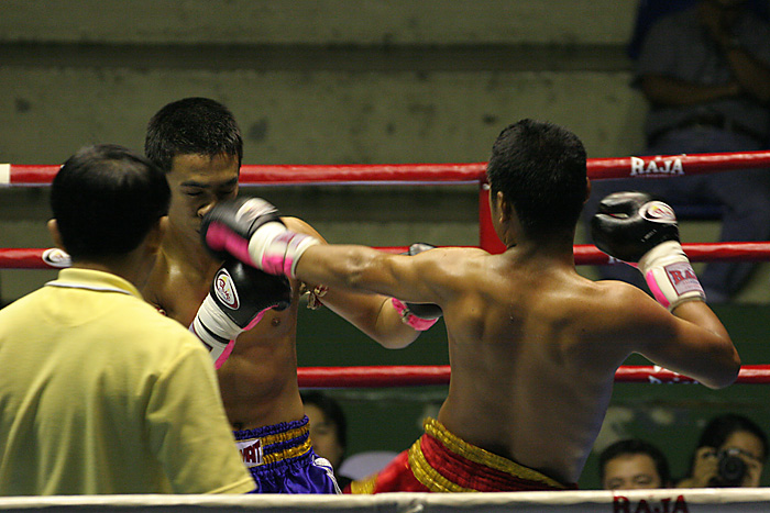 Muay Thai match in Bangkok