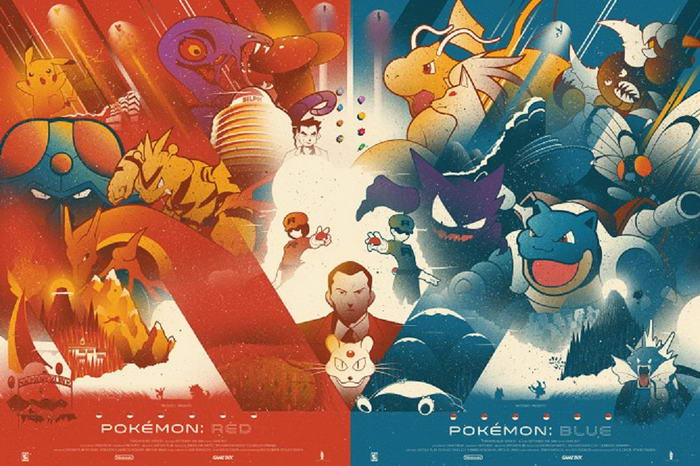 Pokemon Red and Blue