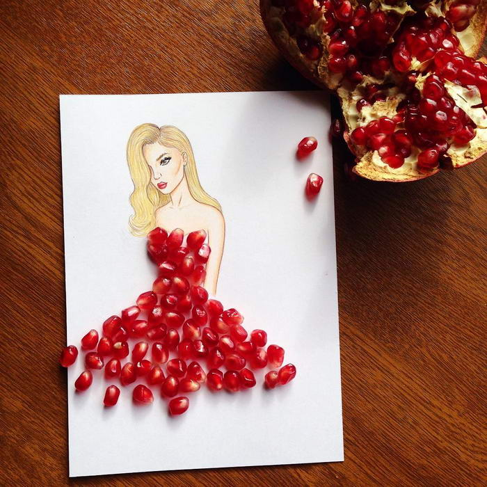 Pomegranate Dress