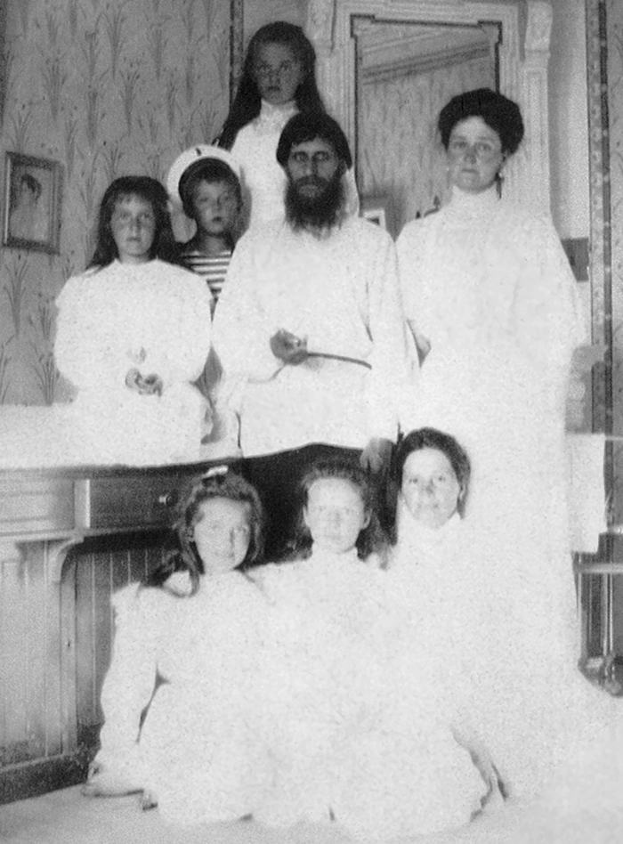 Rasputin with childrens