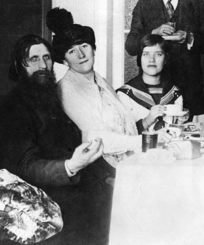Rasputin with his wife