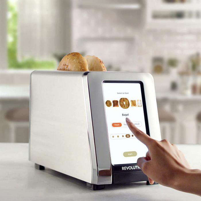 Revolution 2 Slice Stainless Touchscreen Toaster