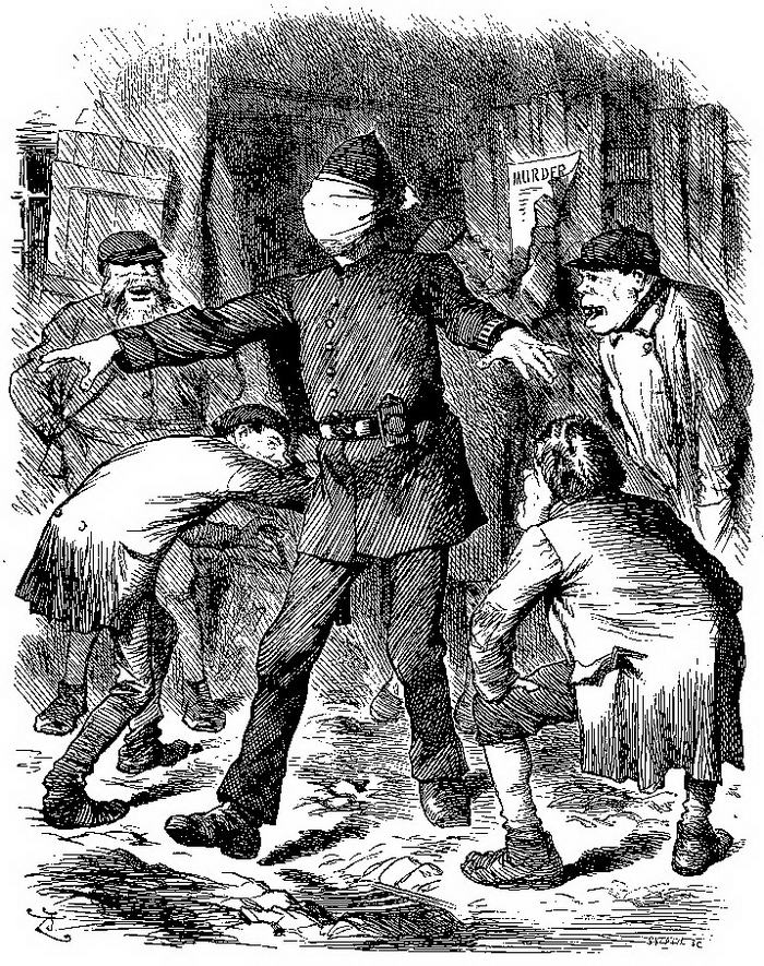 Ripper cartoon punch