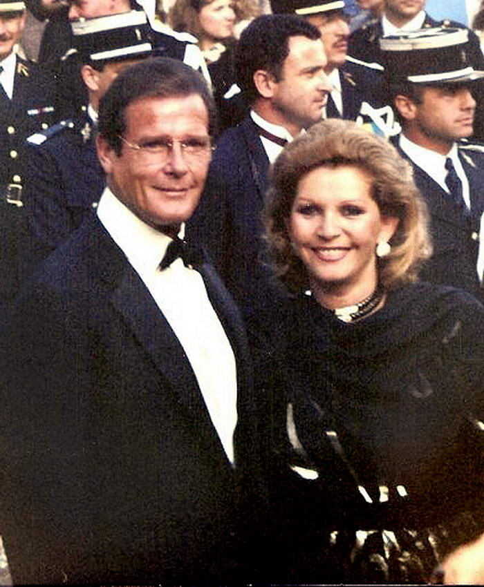 Roger Moore Cannes