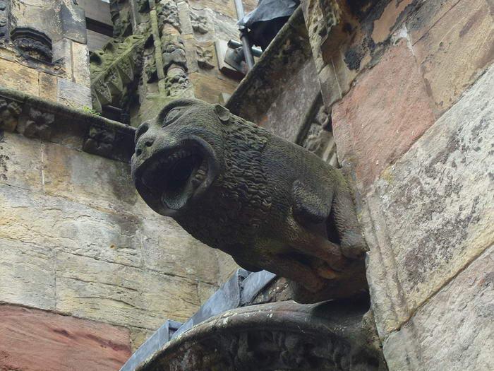 Rosslyn Chapel Gargoyle