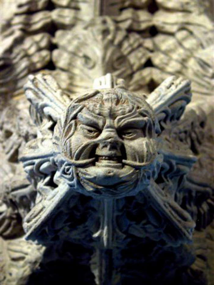 Rosslyn chapel green men