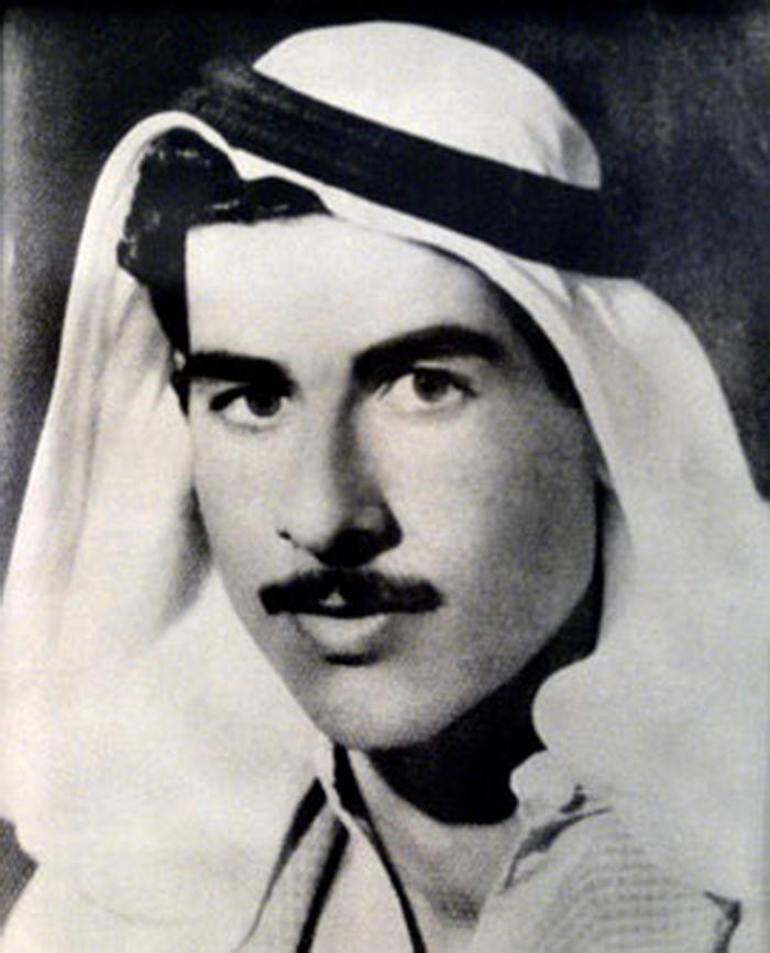 Saddam in his youth