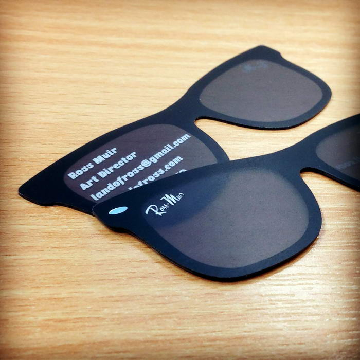 Sunglasses Business Card