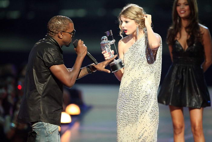 Taylor Swift with Kanye