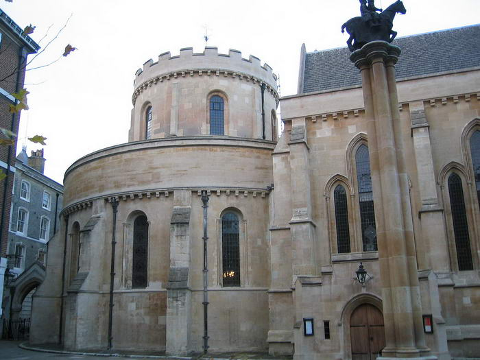 Temple Church in London