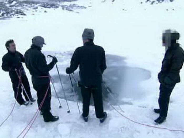 The Icy Plunge Pool