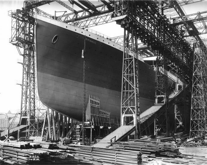 Titanic ready for launch