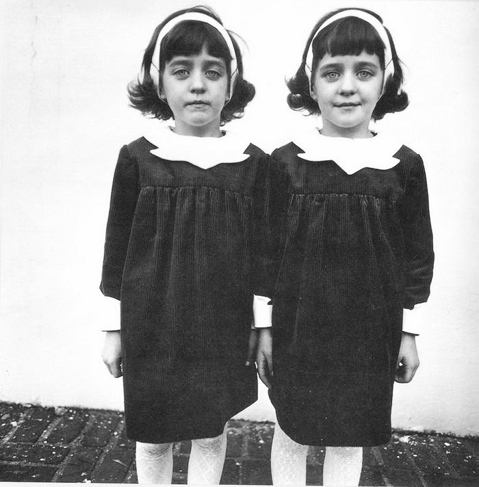Twins by Diane Arbus