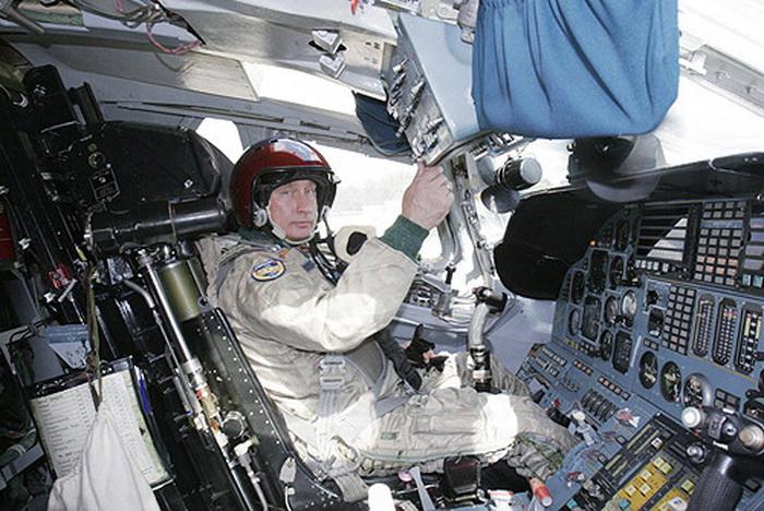 Vladimir Putin Cockpit