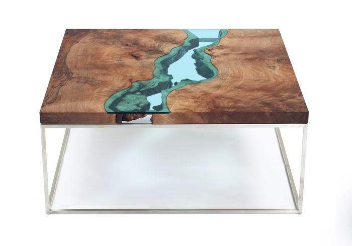 Walnut River Coffee Table