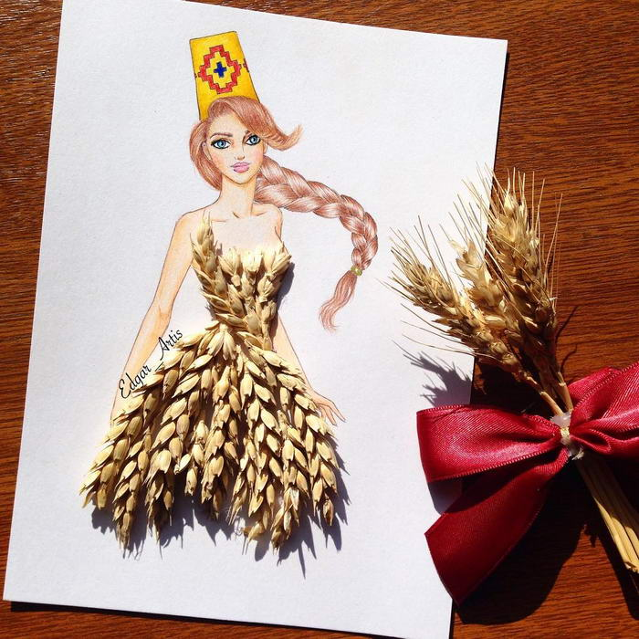 Wheat Dress