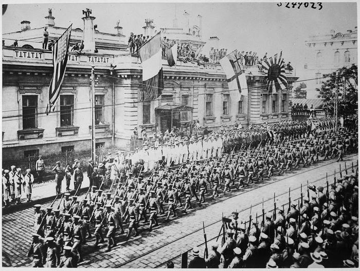 Wladiwostok Parade 1918