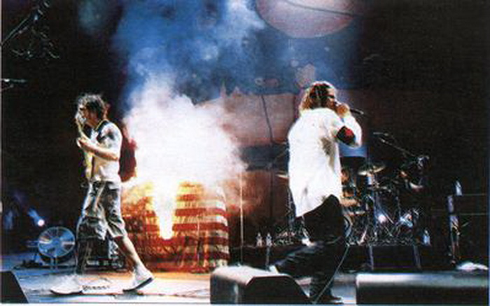 Woodstock 99 Rage Against The Machine