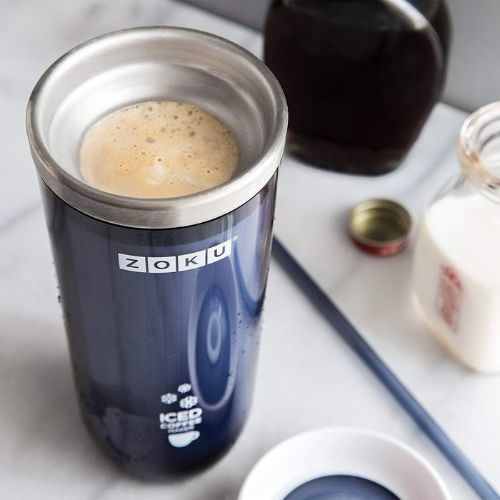 Zoku Grey Iced Coffee Maker