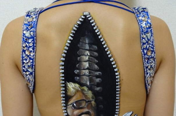 10 Most Outstanding Body Art Illusions By Chooo San