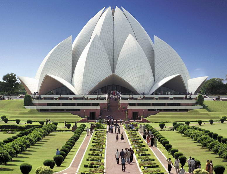 Delhi - Lotus Temple - 10 Most Populated Cities On Earth