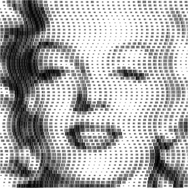 10 Most Clever Portraits Made From Barcodes By Scott Blake